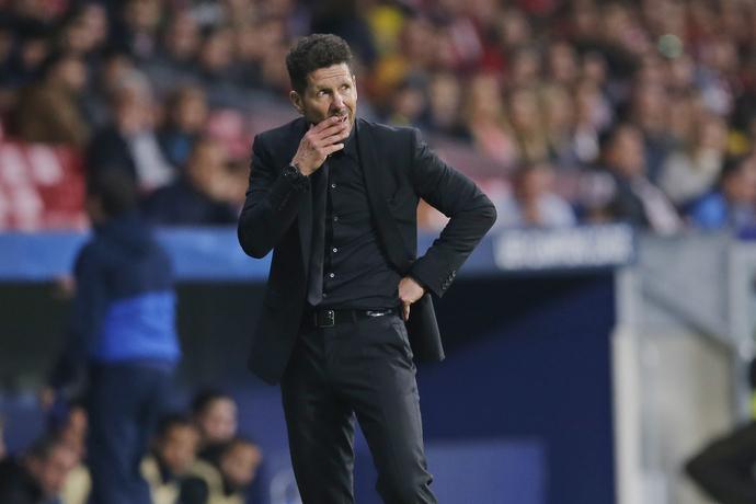 Diego Simeone niega trato especial a jugadores