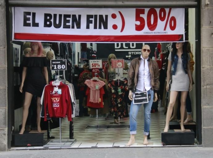 Más de la mitad de mexicanos no compró nada en el Buen Fin