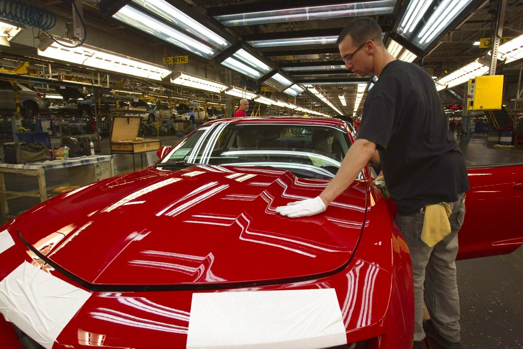 En huelga empleados de General Motors en EU