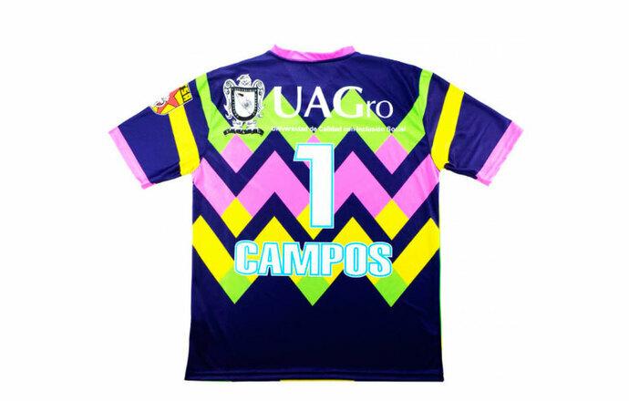 Equipo de Tercera División usará uniforme de Jorge Campos