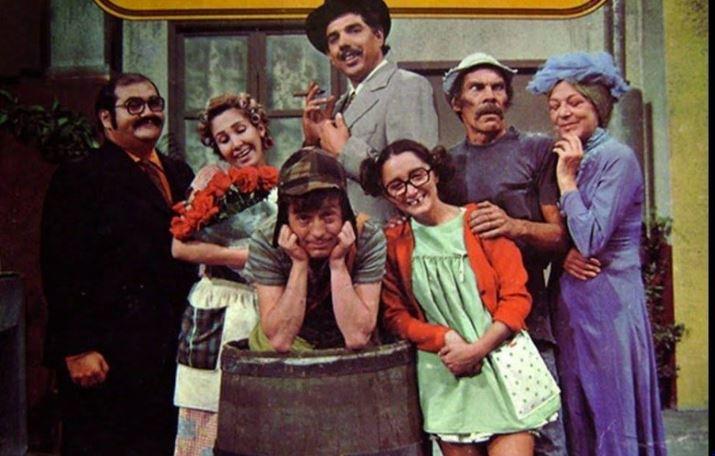 Sale a la luz sorprendente foto inédita del elenco de 'El Chavo del 8'