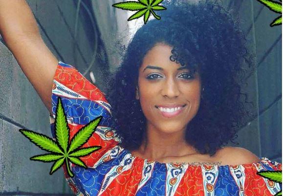 Ella es la mujer que gana más de 18 mil dólares al mes por fumar marihuana
