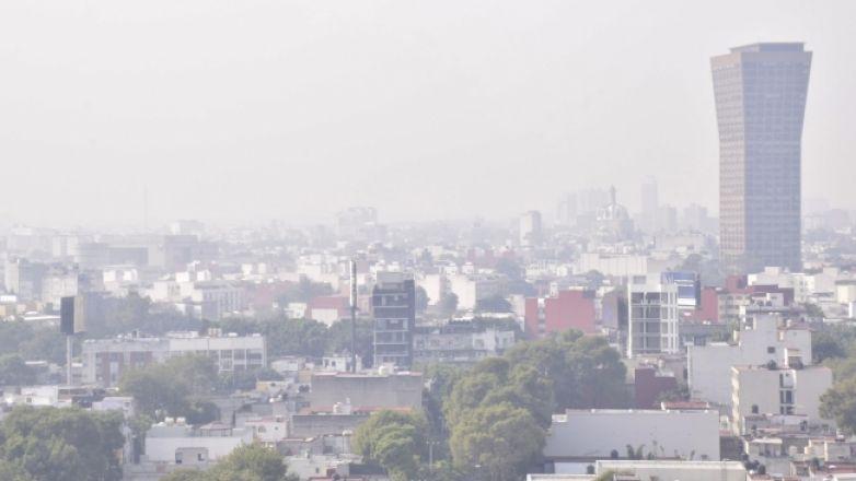 Autoridades simulan atender mala calidad del aire
