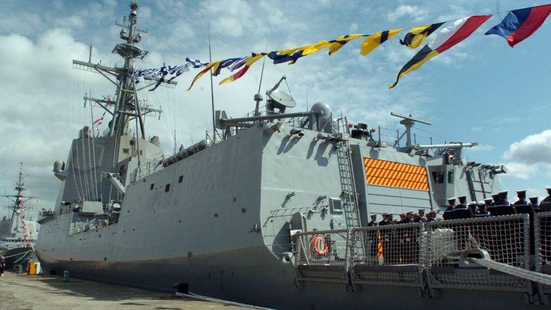 España dice que retiro de fragata no fue reproche