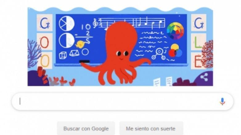 Google celebra a los maestros en su día