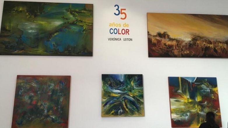 """Celebran """"35 años de color"""" de Verónica Leiton en La Rodadora"""