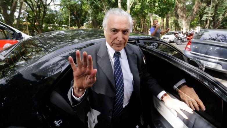 Expresidente Michel Temer en libertad