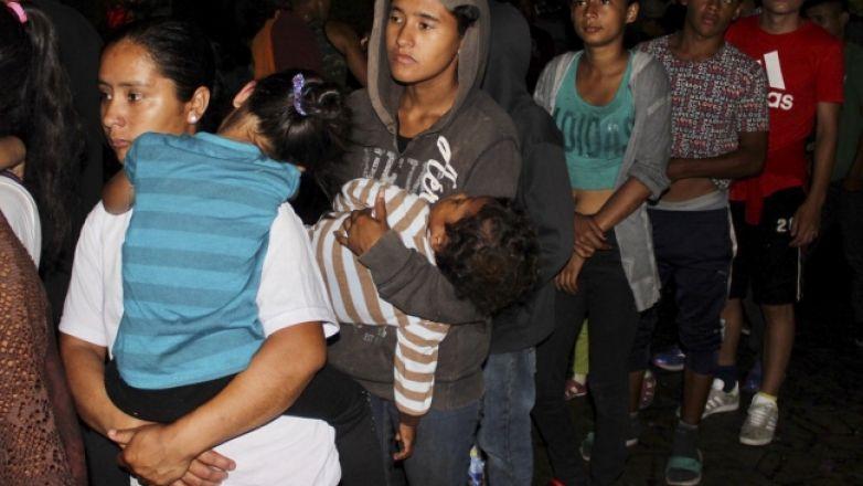 Rescatan a 35 hondureños de traficantes