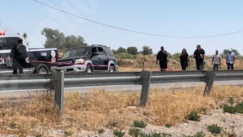 """Con """"cuerno de chivo"""" ejecutan a dos en el Valle de Juárez"""