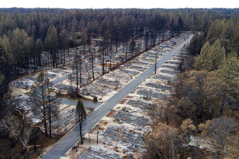 Tras incendios, población en Paradise disminuye más de 90%