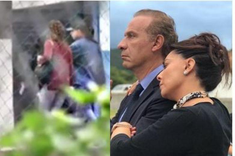 Yadhira Carrillo visita a Juan Collado en la cárcel