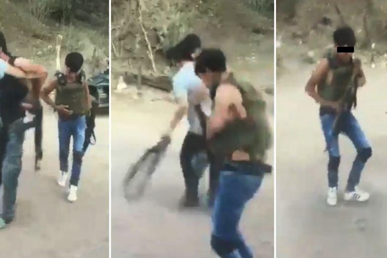 Menores sicarios se graban mientras bailan y disparan