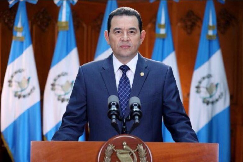 Jimmy Morales quiere retener a los migrantes