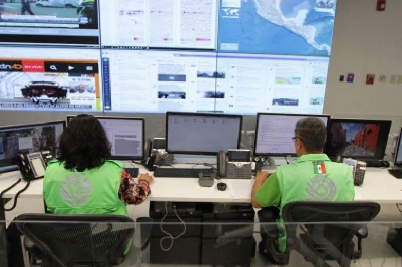 Activan protocolos tras sismo en Álvaro Obregón