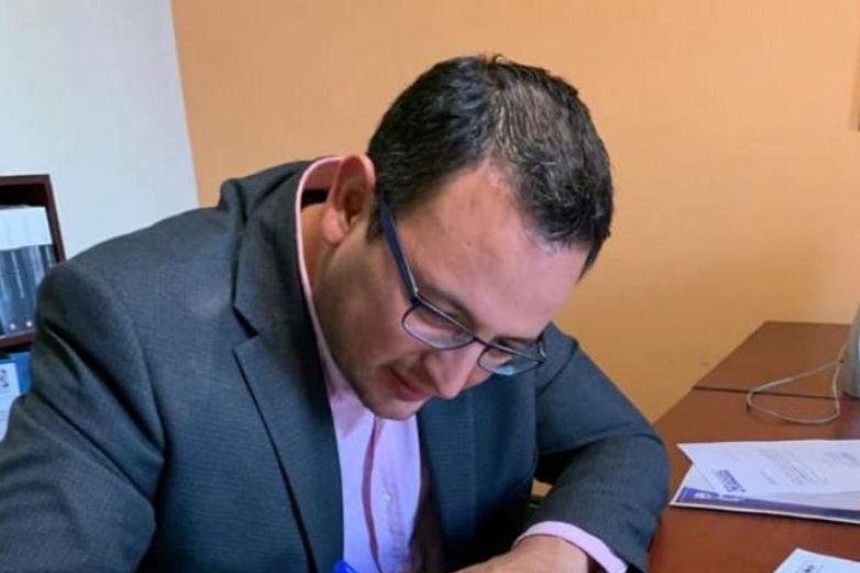 Se registra Marco Bonilla como candidato al Consejo Estatal del PAN