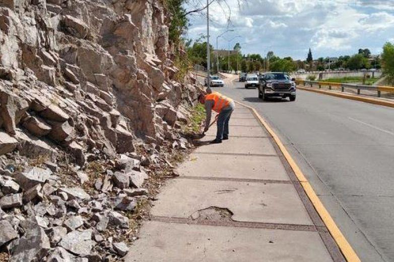 Mejoran imagen de la ciudad con operativo de limpieza