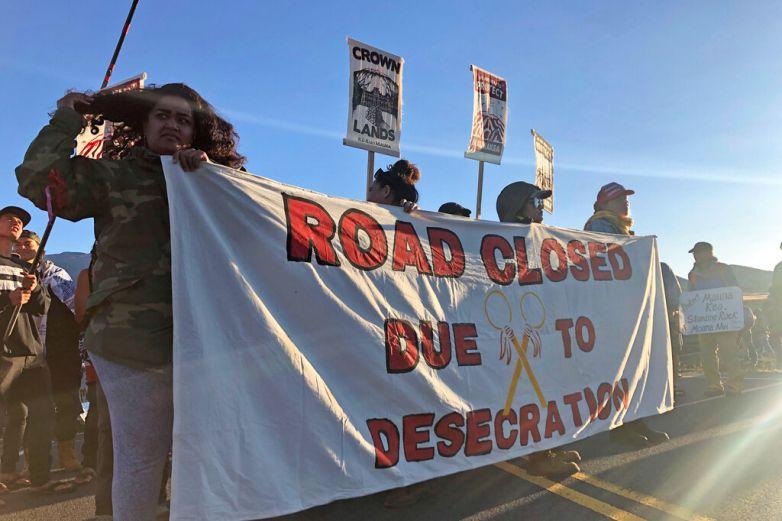 Protestan contra construcción de telescopio gigante en Hawai