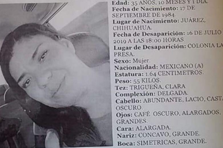 Piden ayuda para localizar a mujer desaparecida