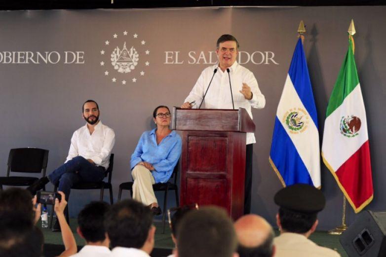 Destaca Marcelo Ebrard beneficios de Sembrando Vida en El Salvador