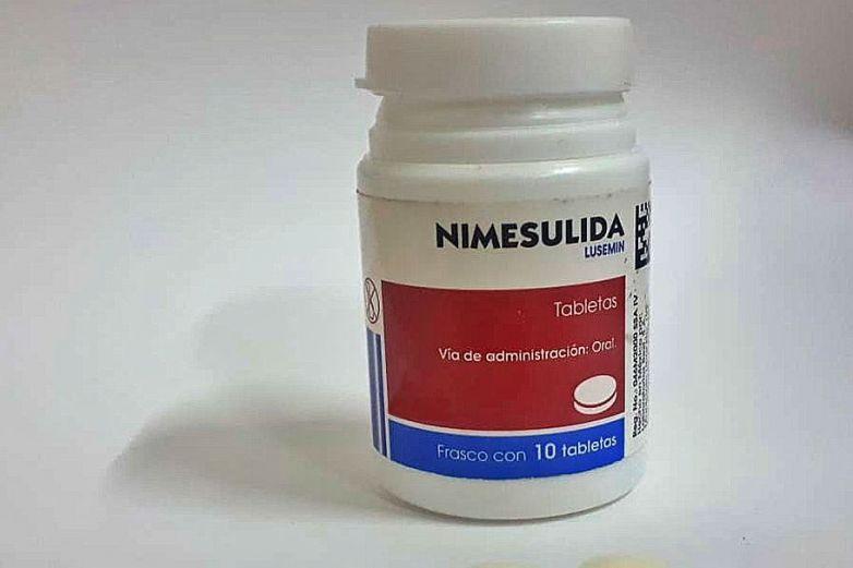 Nimesulida, medicamento peligroso