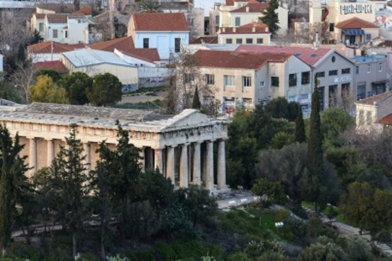 Atenas vive su primer sismo en 20 años