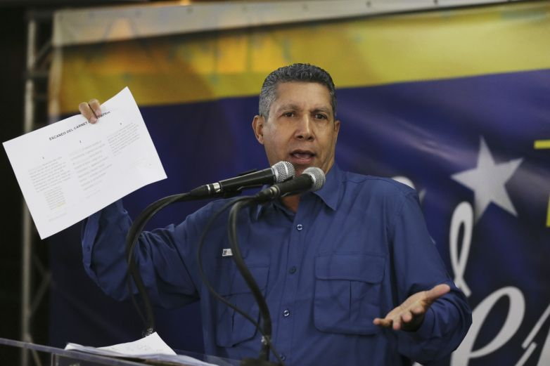 Henri Falcón no busca apoyo de EEUU para ser presidente