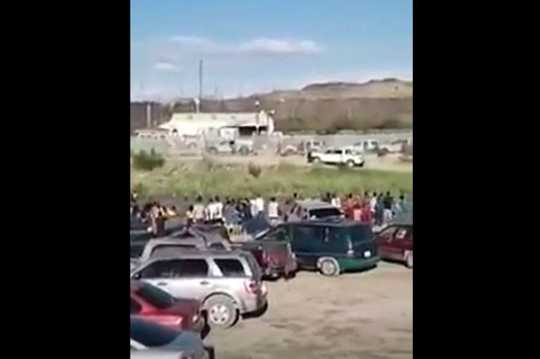 Denuncian disparos de 'migras' contra juarenses
