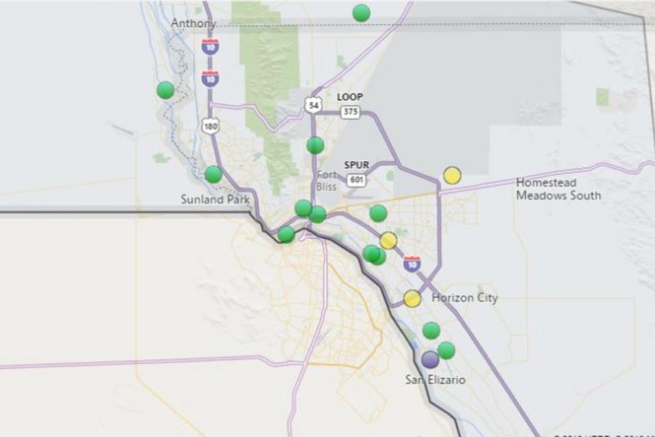 Apagones dejan a más de 8 mil sin luz en El Paso