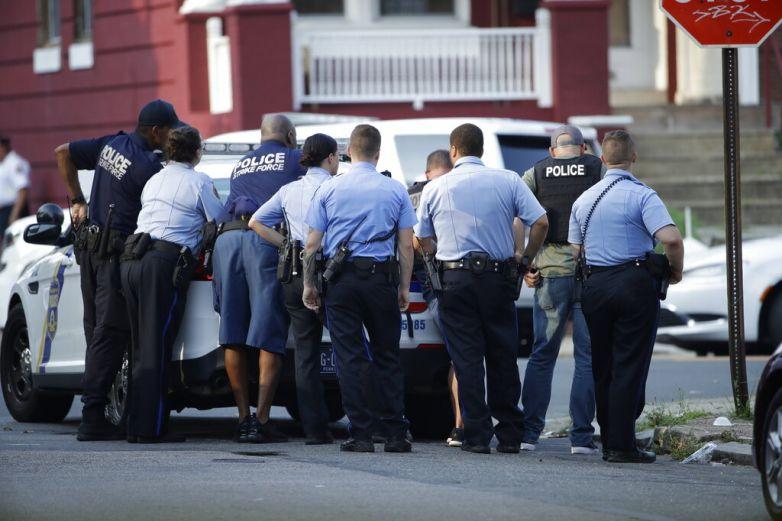 Detienen a atacante de policías en Filadelfia