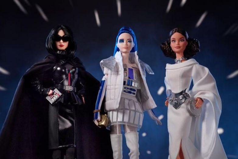 Barbie estrena colección inspirada en Star Wars