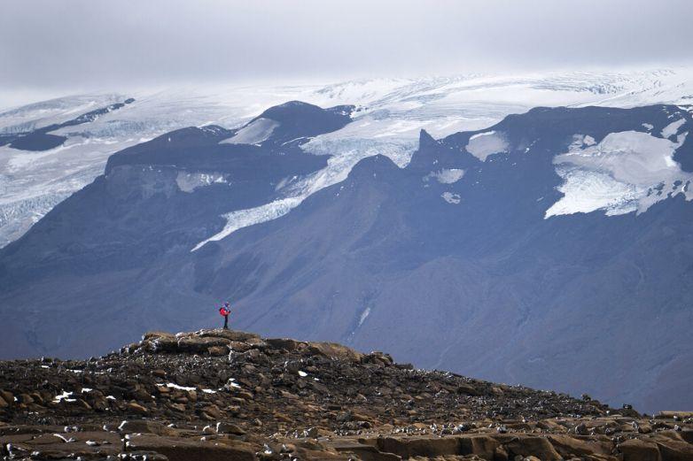 Dan último adiós a glaciar en Islandia