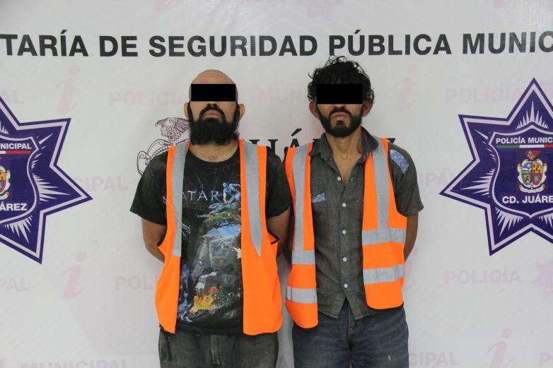 'Atoran' a supuestos mexicles con cristal y armas