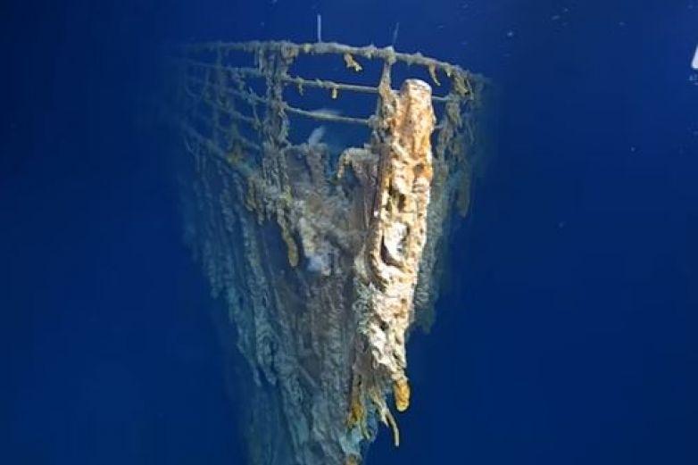 Exhiben imágenes inéditas del Titanic a 107 años de accidente