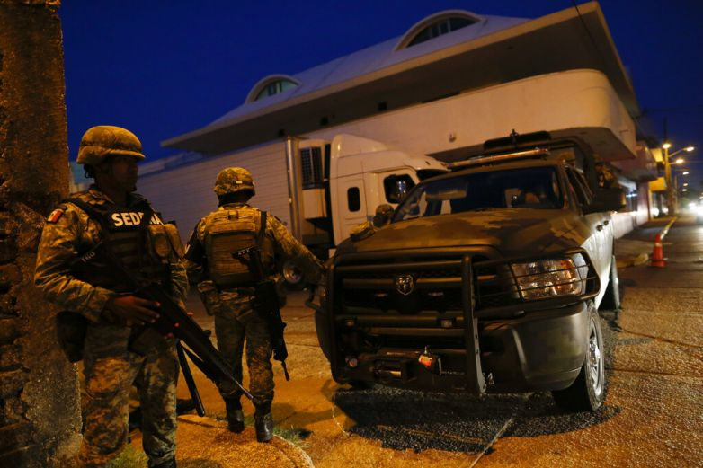 Guardia Nacional apoya en búsqueda de asesinos de policías oaxaqueños