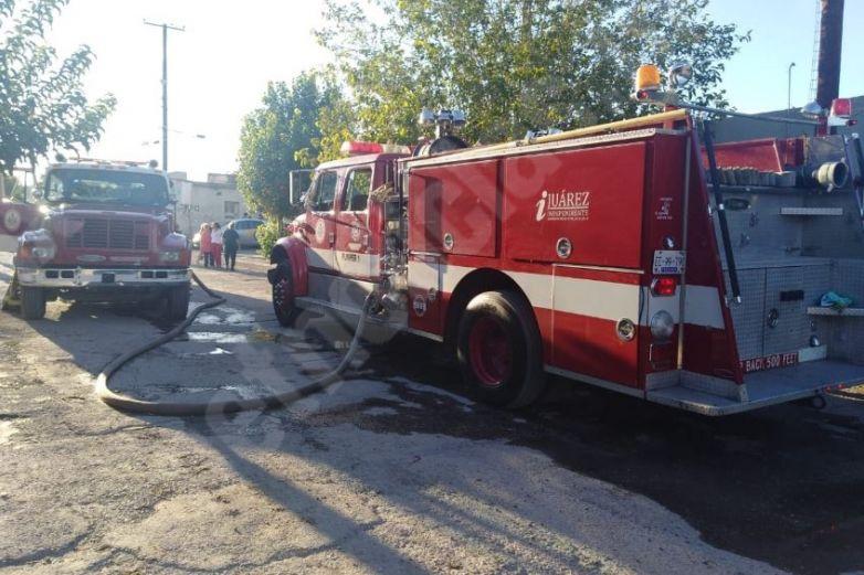 Incendio deja un lesionado en la Anáhuac