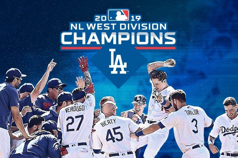 Dodgers gana séptimo título consecutivo divisional
