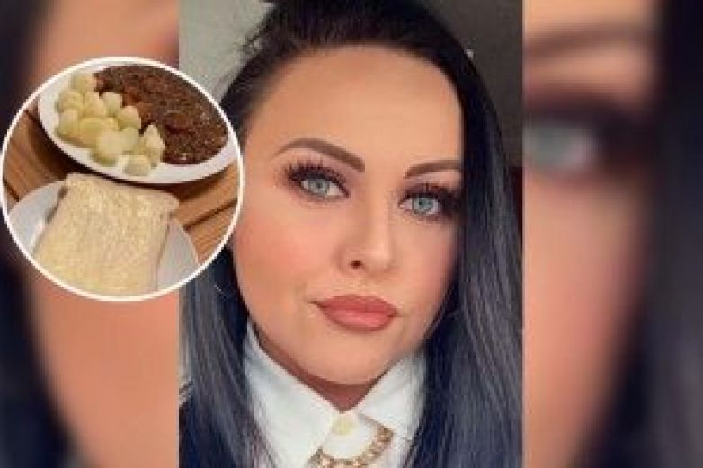 Se viraliza platillo de mujer por parecer 'comida de prisión'