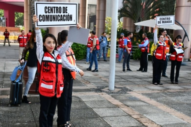 Autoridades alistan macrosimulacro nacional por sismo