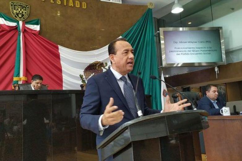 Defiende Máynez permanencia del PES en el Congreso