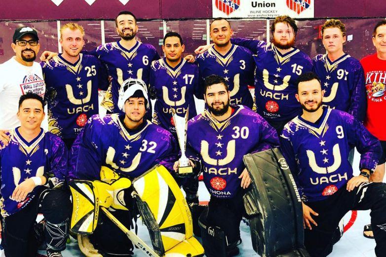 Logra UACH su primer campeonato internacional de Inline Hockey