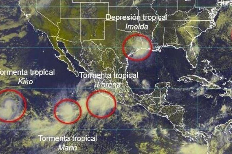 Pronostican que 'Lorena' se convertirá en huracán categoría 1