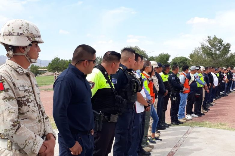 Conmemoran Día de Protección Civil con simulacros