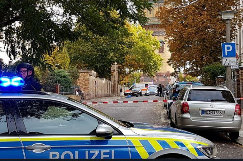 Al menos 2 muertos en tiroteo cerca de sinagoga en Alemania