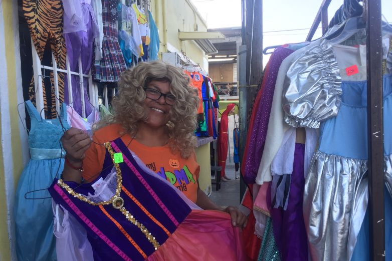 Los disfraces de Doña Tere: tradición de la colonia Barrio Alto