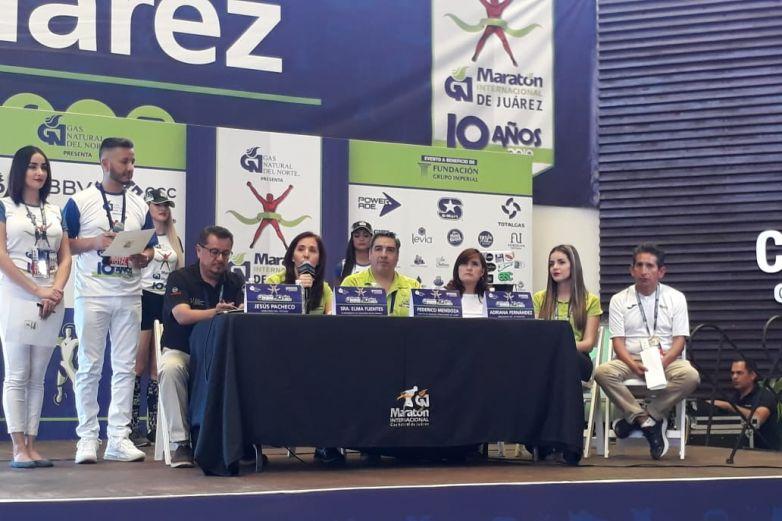 Celebra Maratón Internacional 10 años de magia deportiva