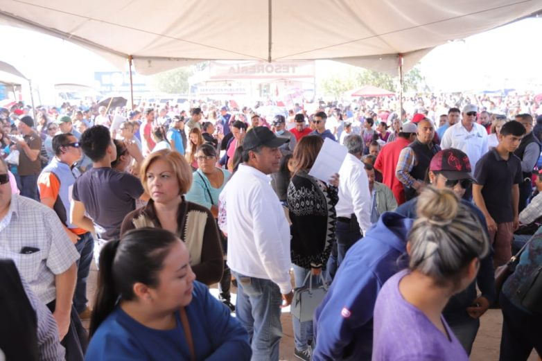 Acuden 30 mil a Feria de Servicios