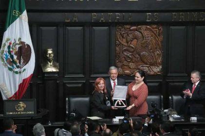 Exhiben oficio de Rosario Ibarra en el que niega cargo partidista