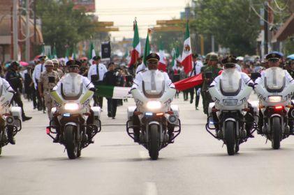 Participarán más de 5 mil en desfile revolucionario