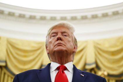 Acusa Trump a Pelosi de retrasar T-MEC