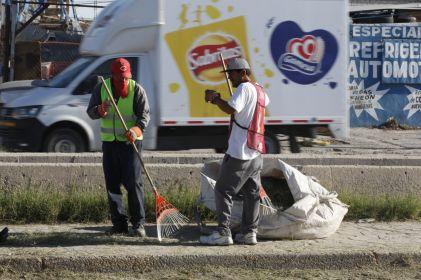 Tiran juarenses más de 500 toneladas de basura a la calle en noviembre